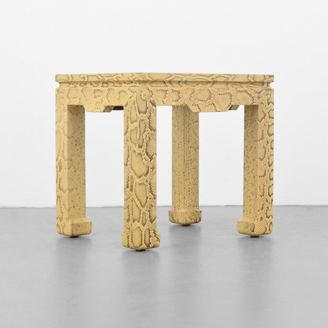 Karl Springer Side Table - 4