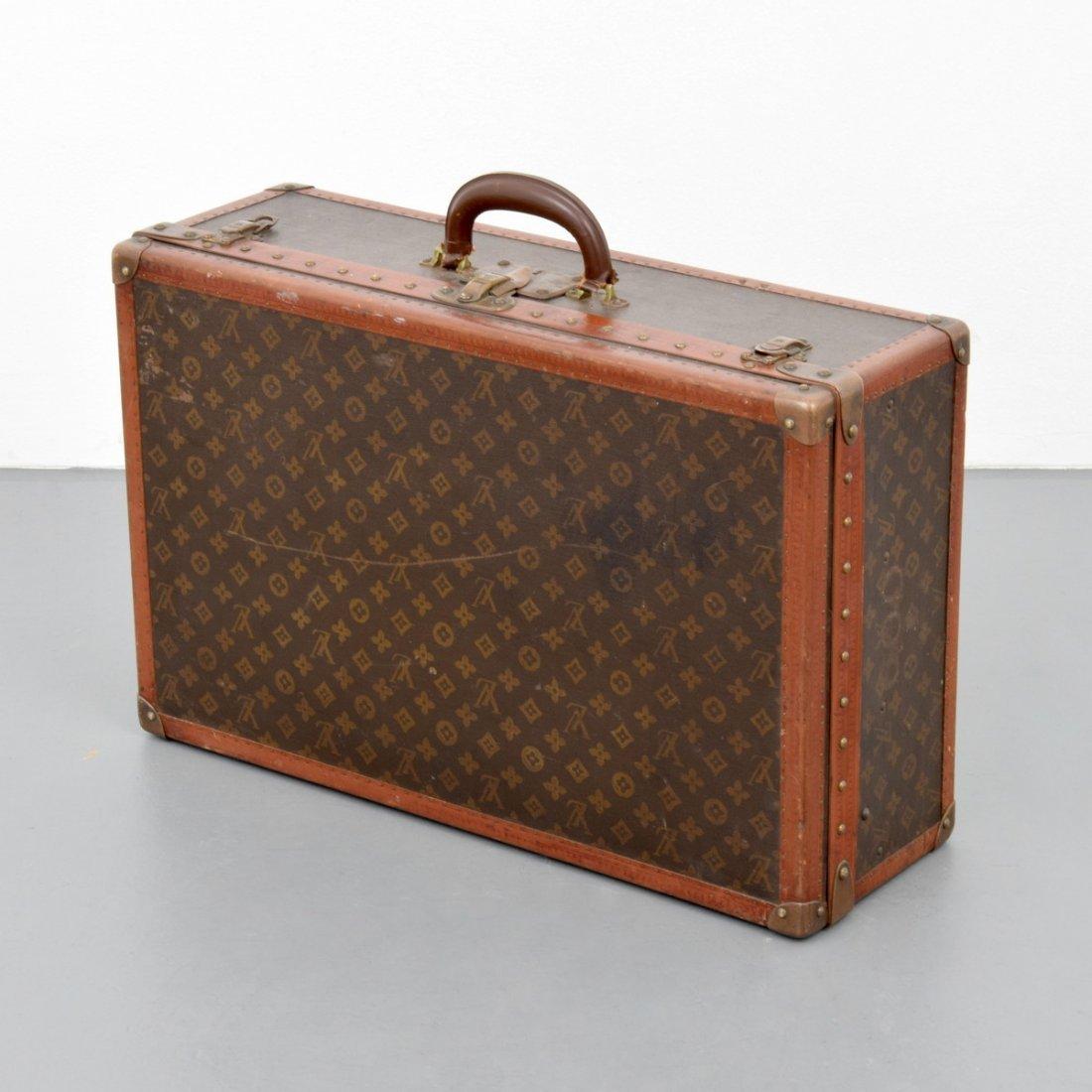 Louis Vuitton Monogrammed Suitcase