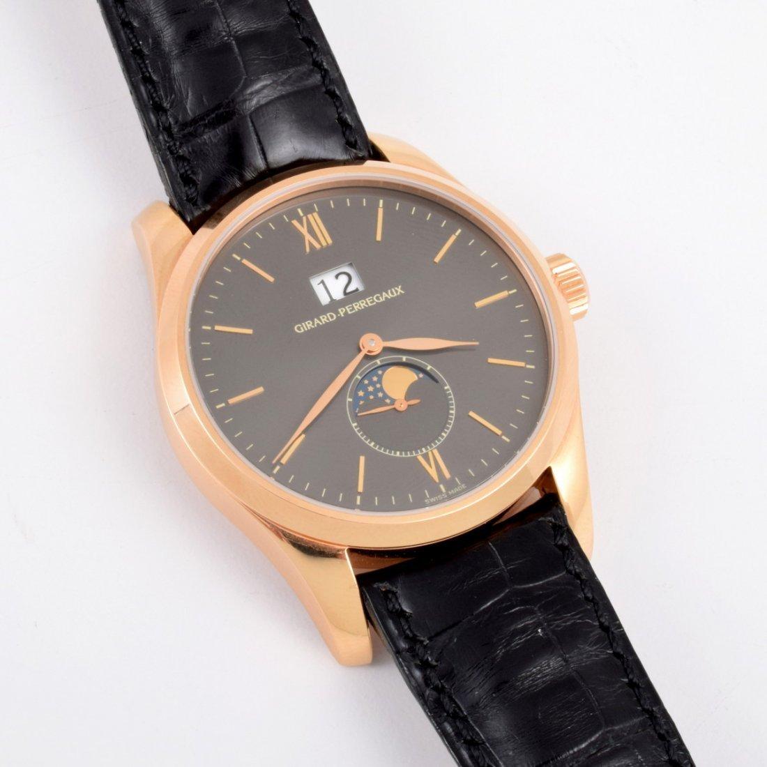Girard-Perregaux 18K Rose Gold Watch - 4