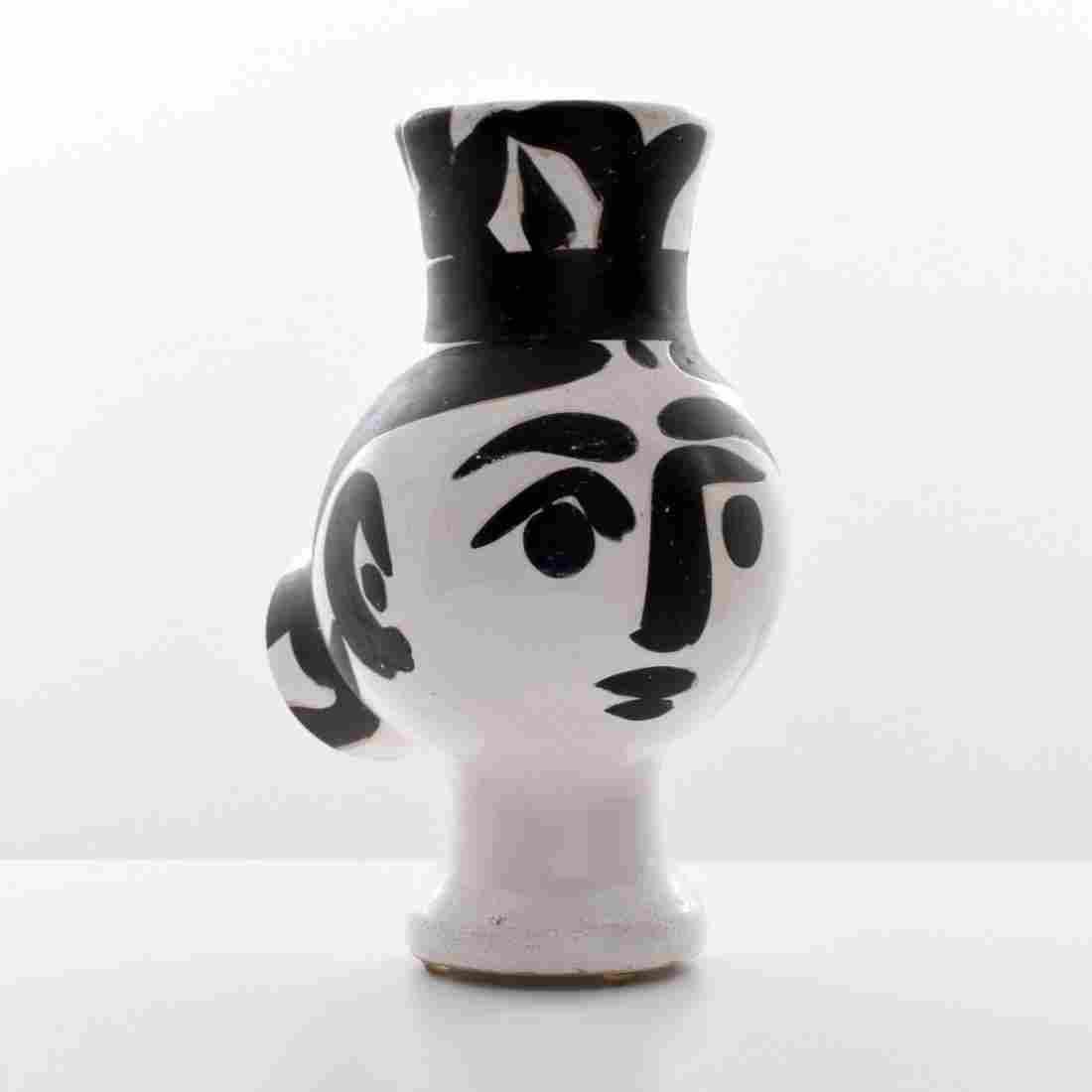 Pablo Picasso CHOUETTE FEMME Vessel, (A.R. 119)