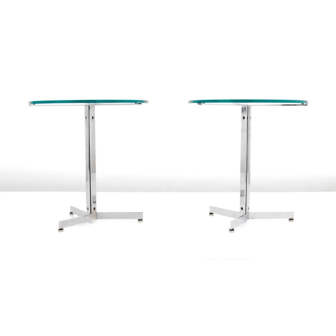 Pair of Hans Eichenberger ALPHA Side/End Tables