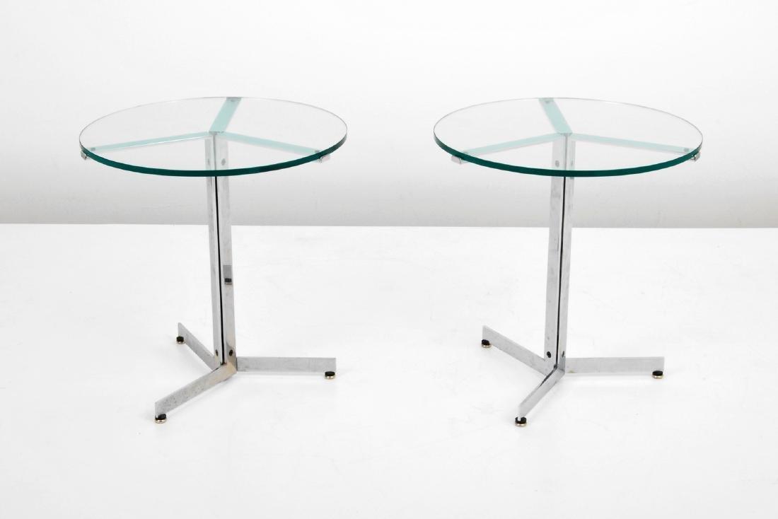 Pair of Hans Eichenberger ALPHA Side/End Tables - 3