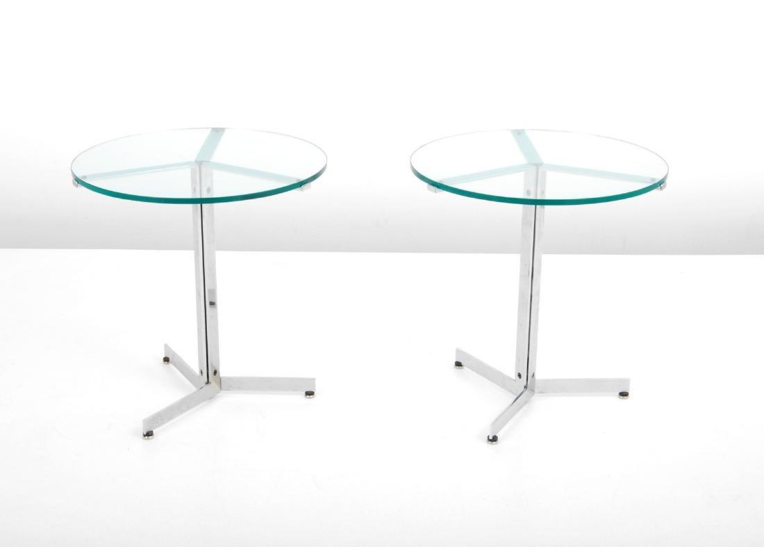 Pair of Hans Eichenberger ALPHA Side/End Tables - 8