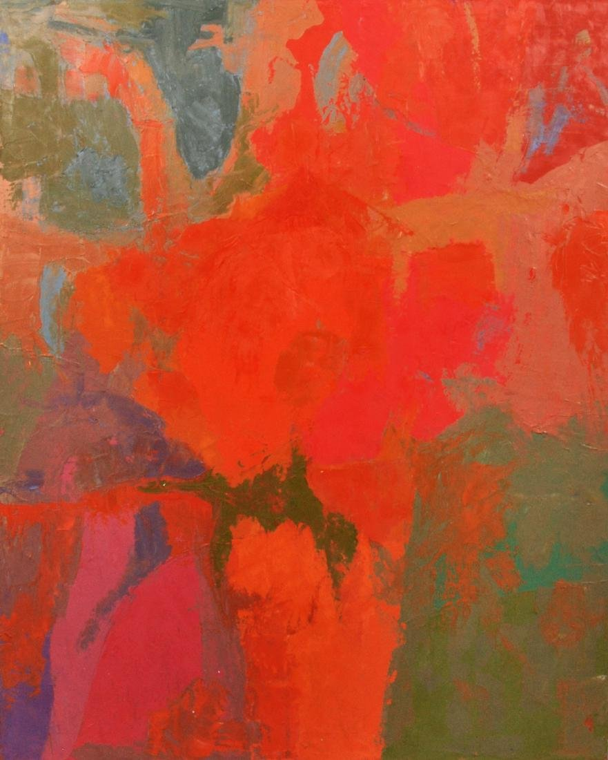 Frederick Lyman Jr. Abstract Painting