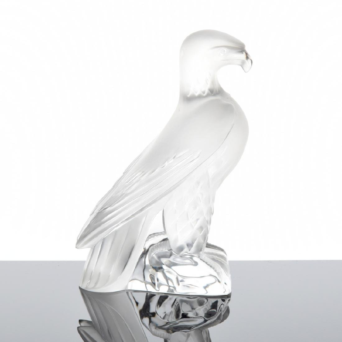Lalique Eagle Figurine - 2