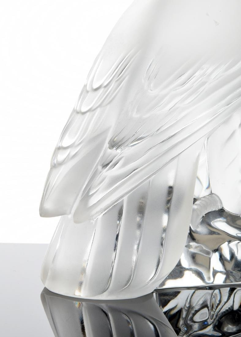 Lalique Eagle Figurine - 3