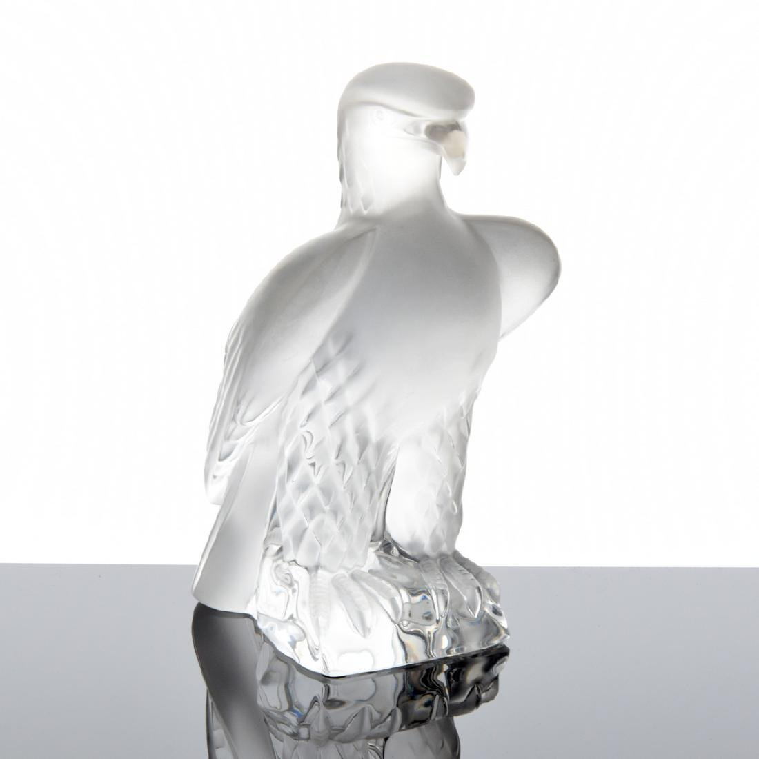 Lalique Eagle Figurine - 8