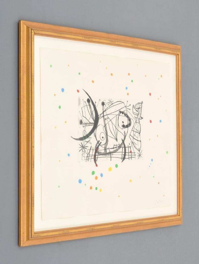 Joan Miro FISSURES Aquatint, Signed Edition - 3