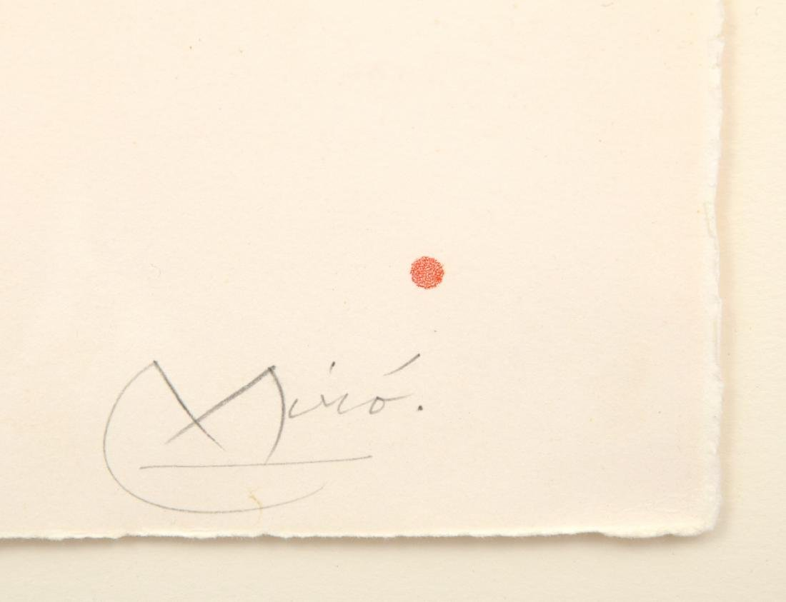 Joan Miro FISSURES Aquatint, Signed Edition - 4