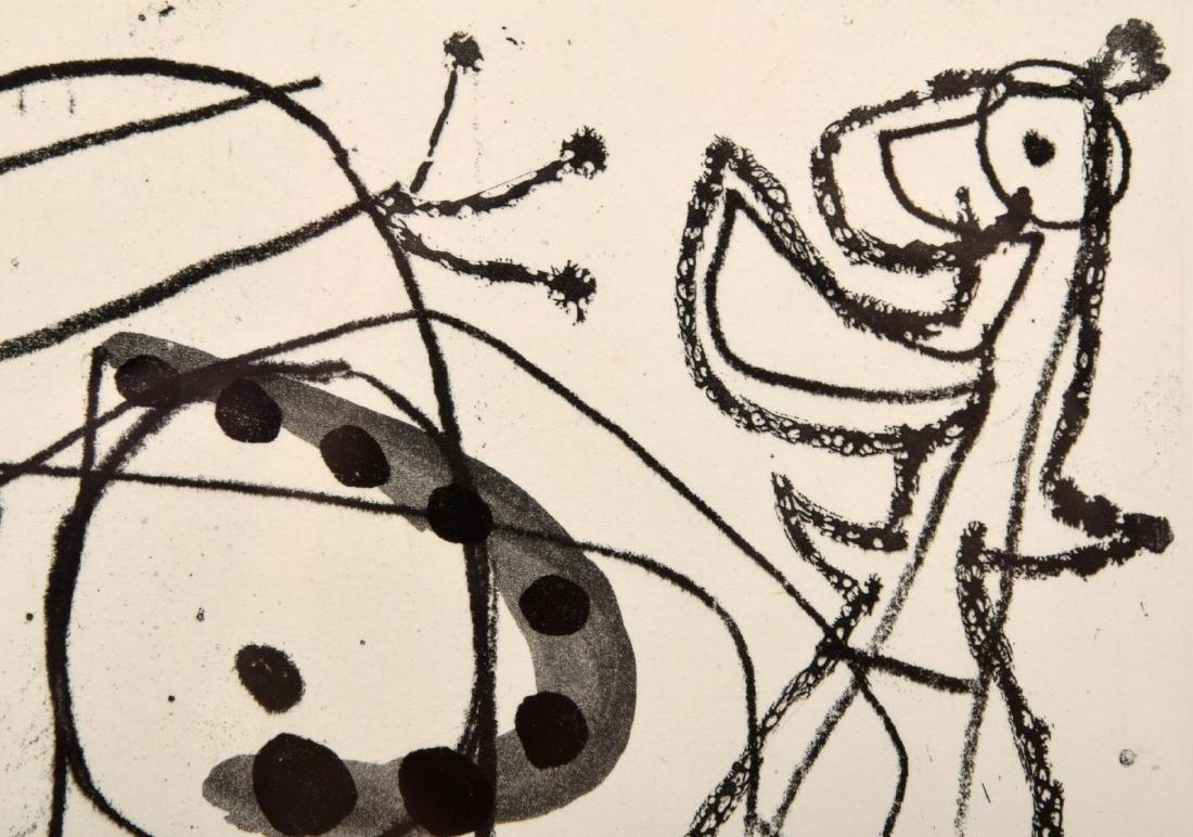 Joan Miro FISSURES Aquatint, Signed Edition - 5