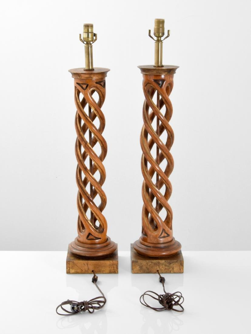 Pair of Frederick Cooper Table Lamps - 5