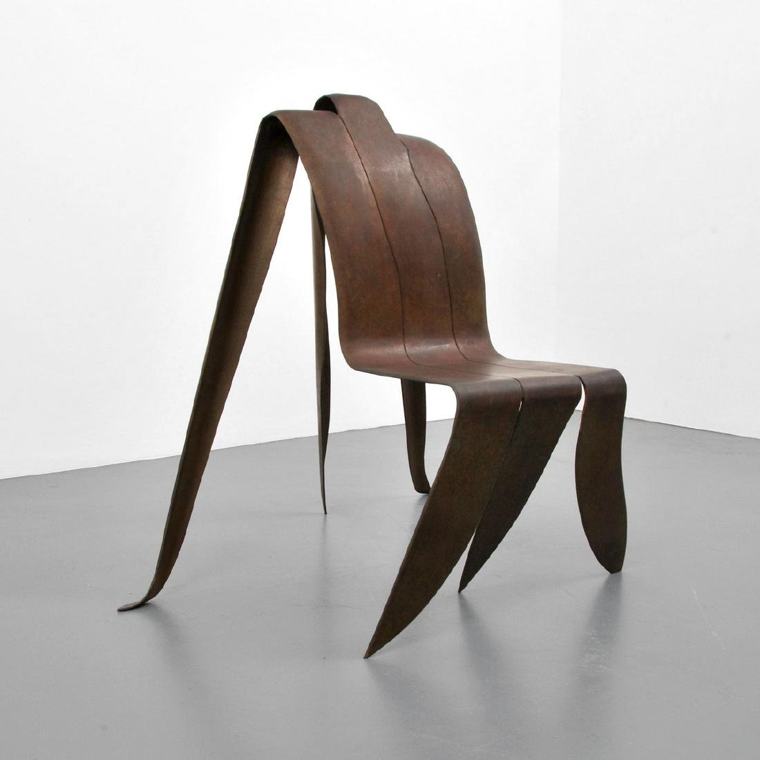 Sculptural Chair, Manner of Vivian Beer, Signed Edition