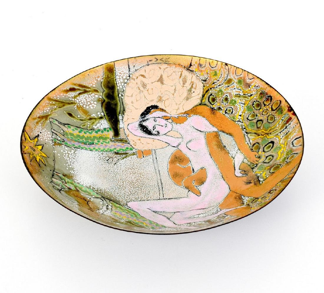 2 Enameled Copper Works, Manner of Gio Ponti - 2