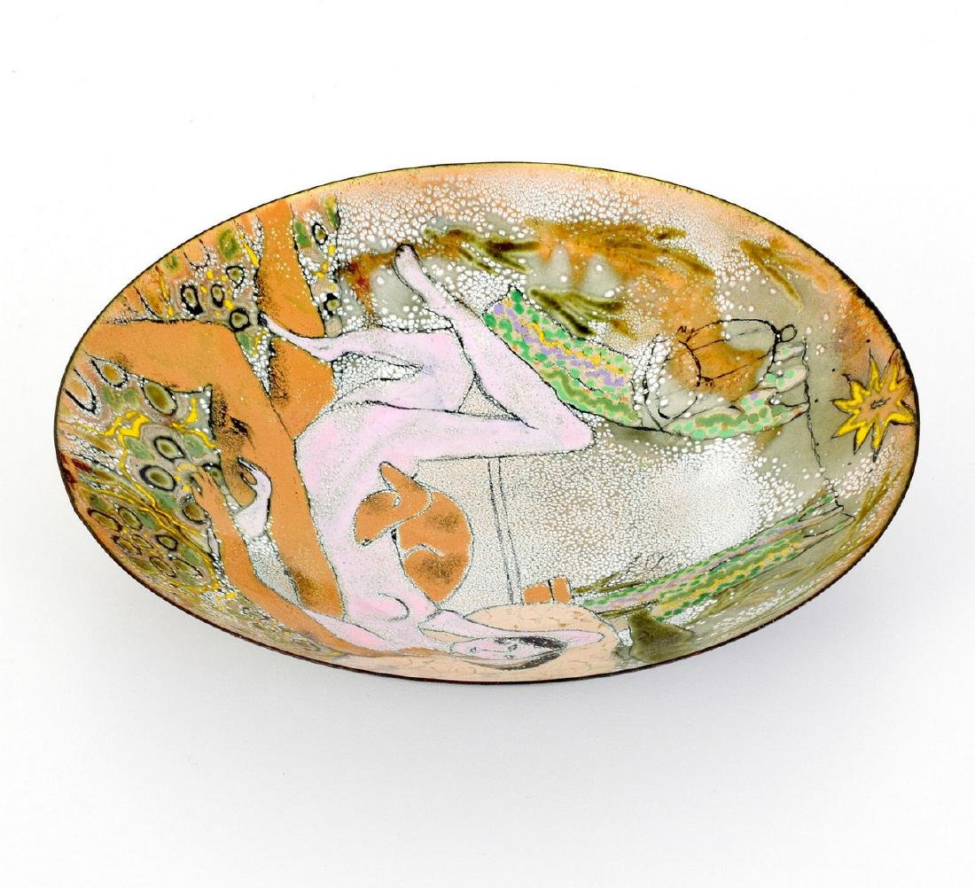 2 Enameled Copper Works, Manner of Gio Ponti - 3