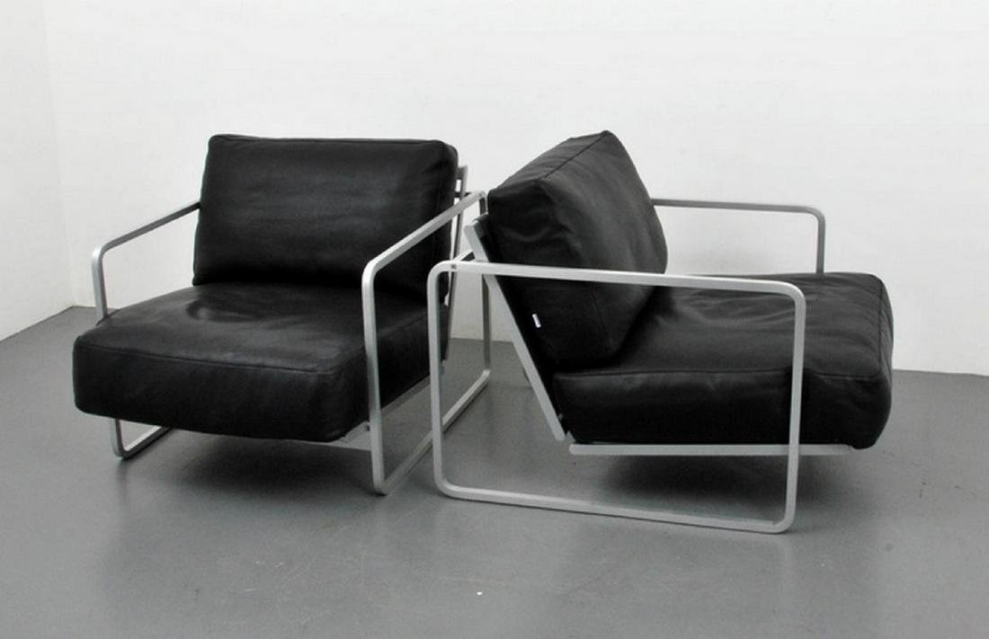 Pair of Haberli & Marchand Lounge Chairs - 2