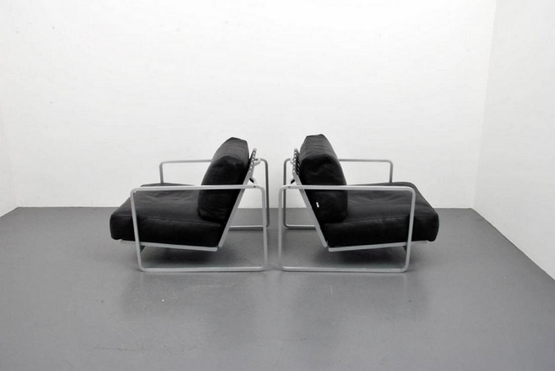 Pair of Haberli & Marchand Lounge Chairs - 5