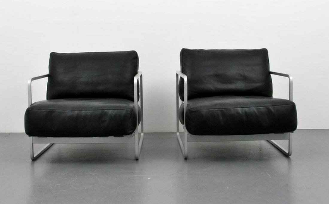 Pair of Haberli & Marchand Lounge Chairs - 7