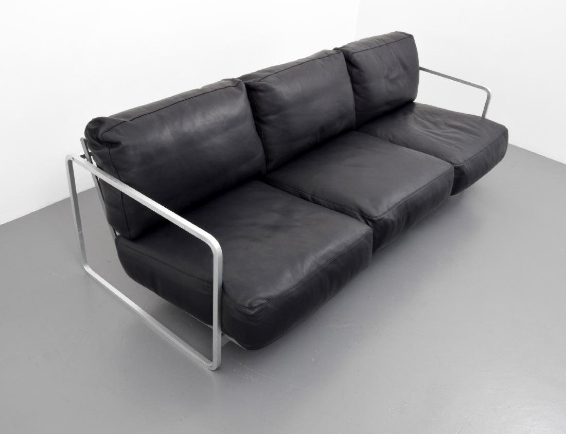 Haberli & Marchand ZURIGO Leather Sofa - 2