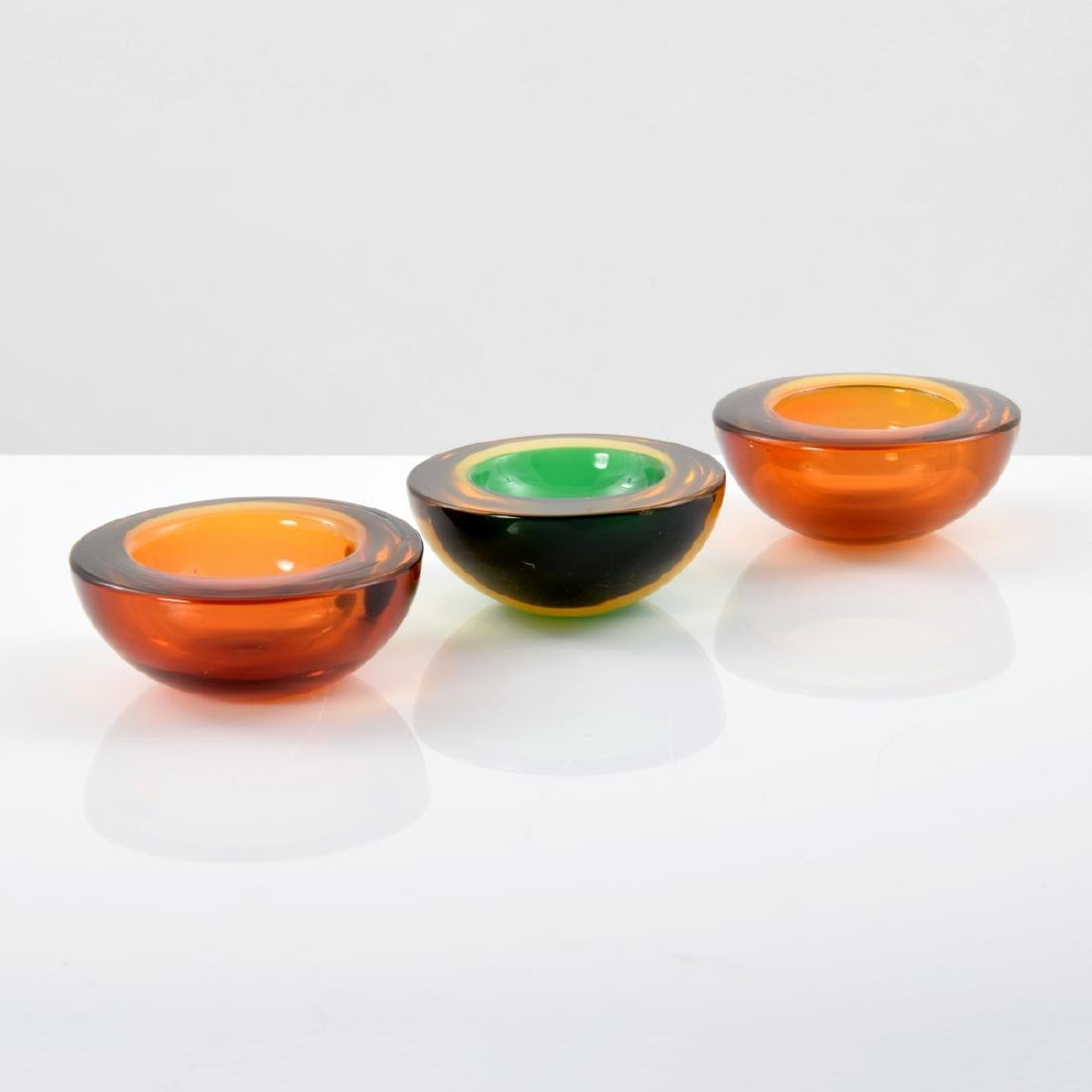 3 GEODE Bowls, Manner of Cenedese - 2