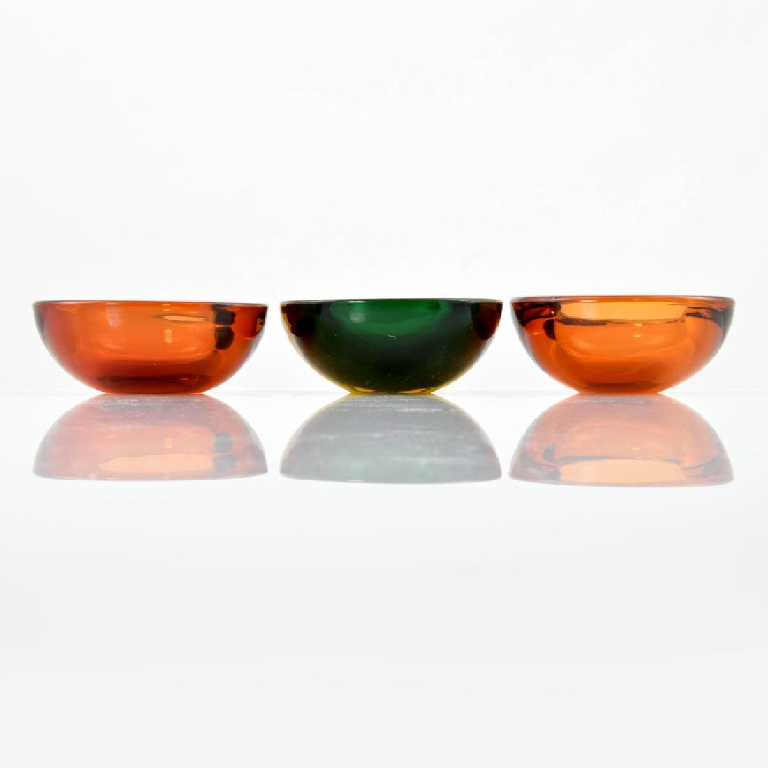 3 GEODE Bowls, Manner of Cenedese - 5