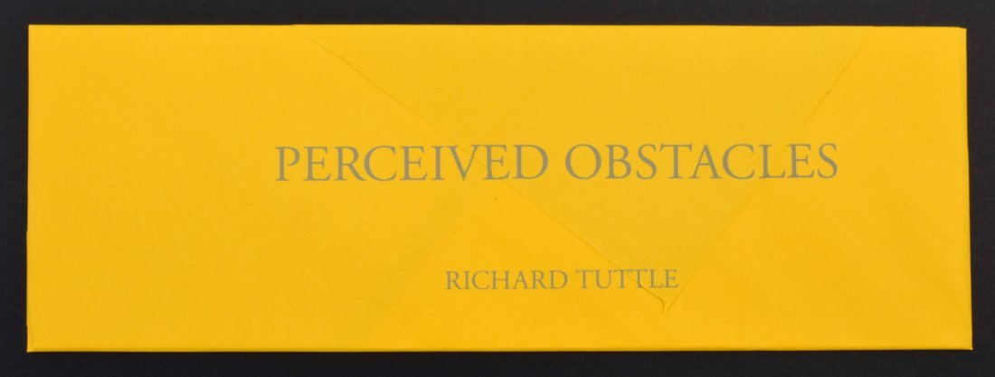 Richard Tuttle PERCEIVED OBSTACLES Suite, 5 Lithographs - 2