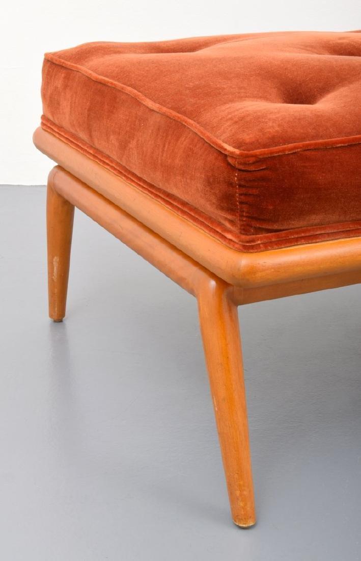 T.H. Robsjohn-Gibbings Lounge Chair & Ottoman - 7