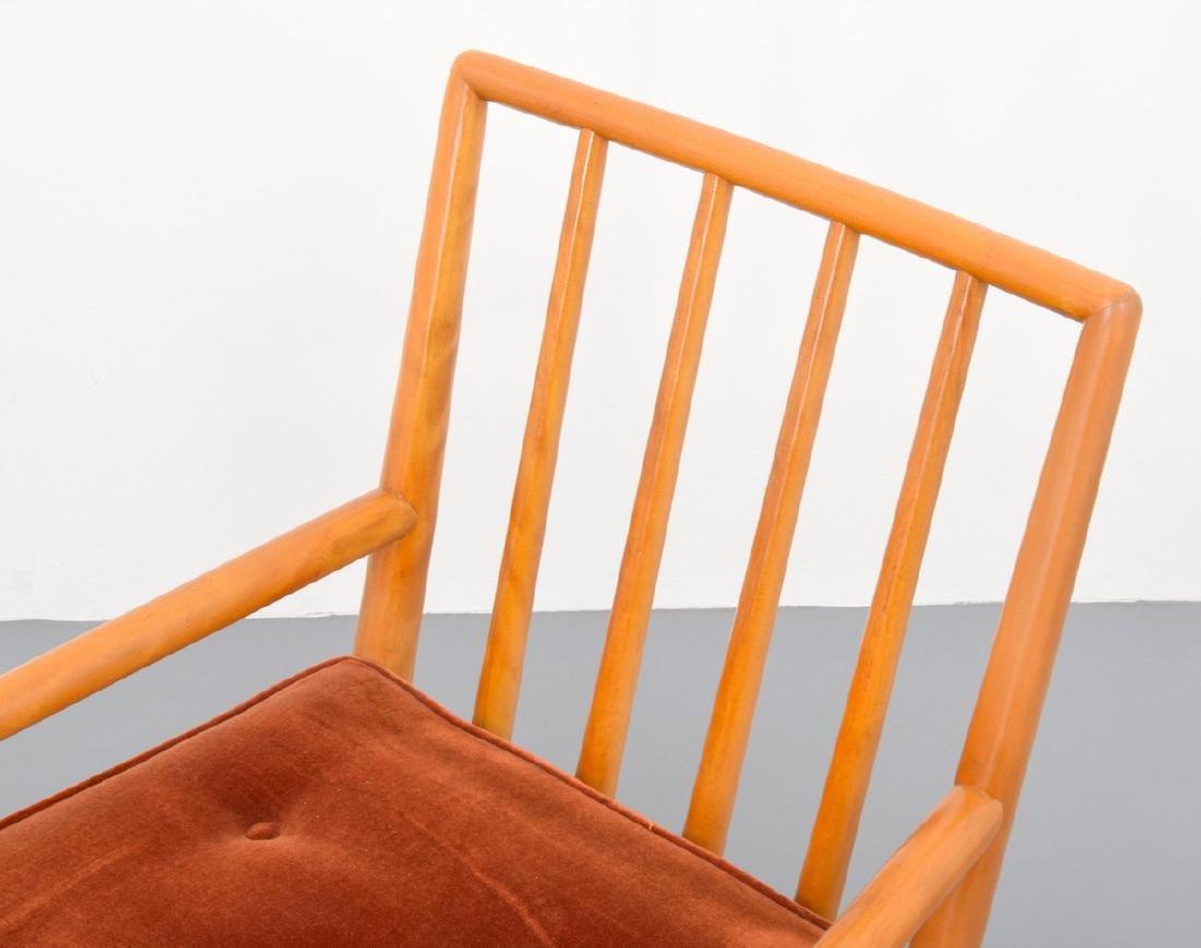 T.H. Robsjohn-Gibbings Lounge Chair & Ottoman - 8