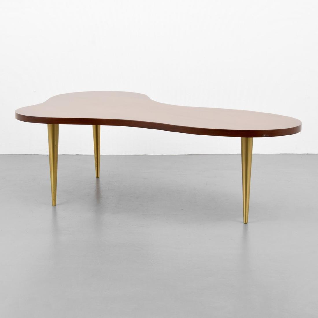 T.H. Robsjohn-Gibbings Biomorphic Coffee Table