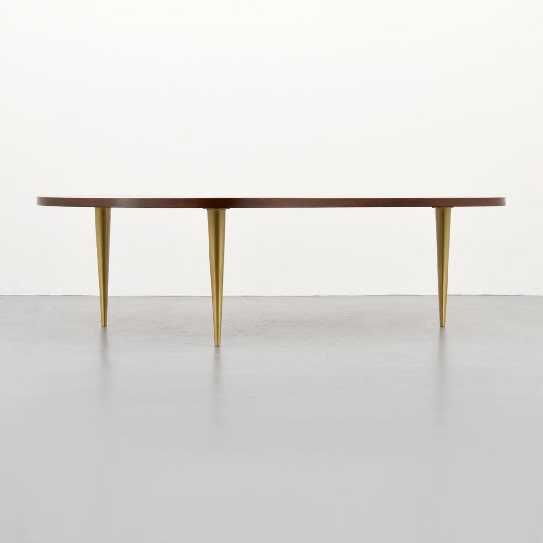 T.H. Robsjohn-Gibbings Biomorphic Coffee Table - 4