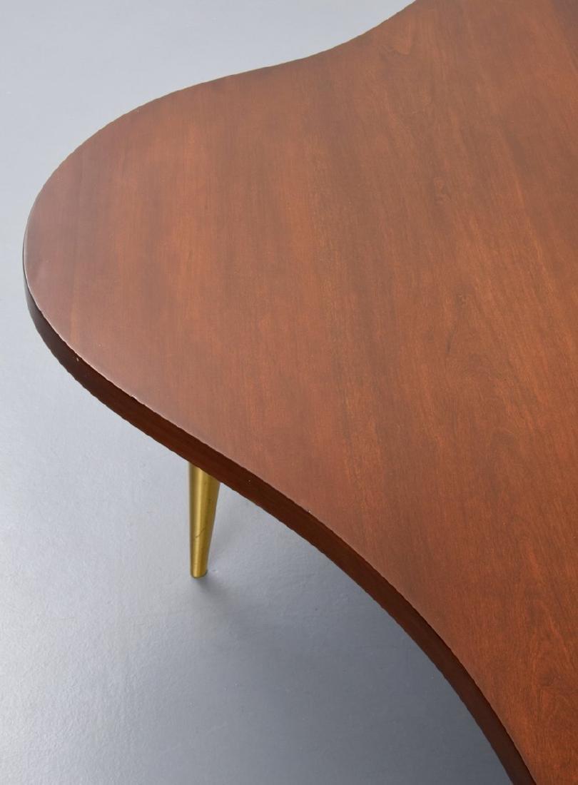 T.H. Robsjohn-Gibbings Biomorphic Coffee Table - 5