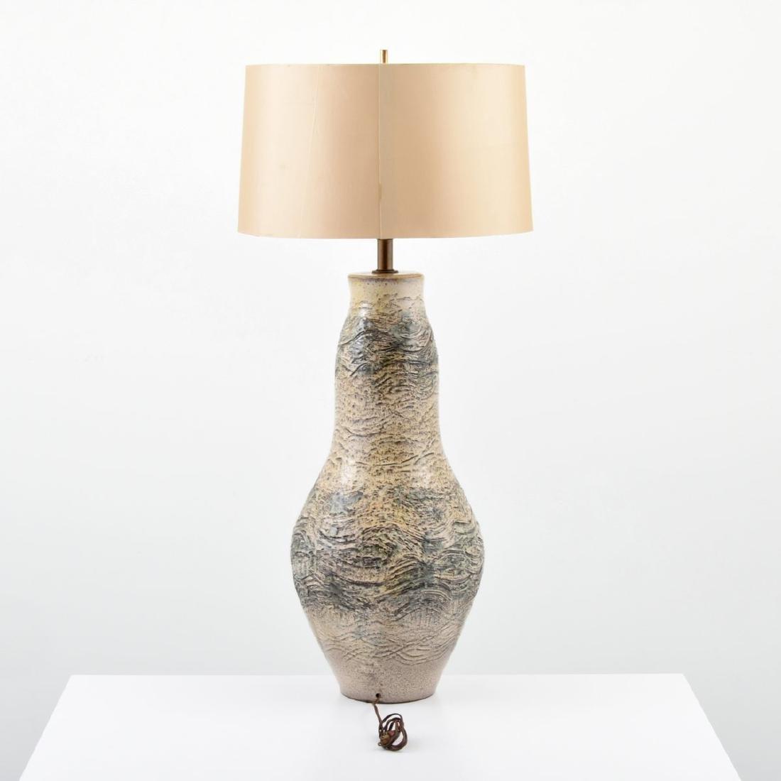 Massive Modern Table Lamp - 4