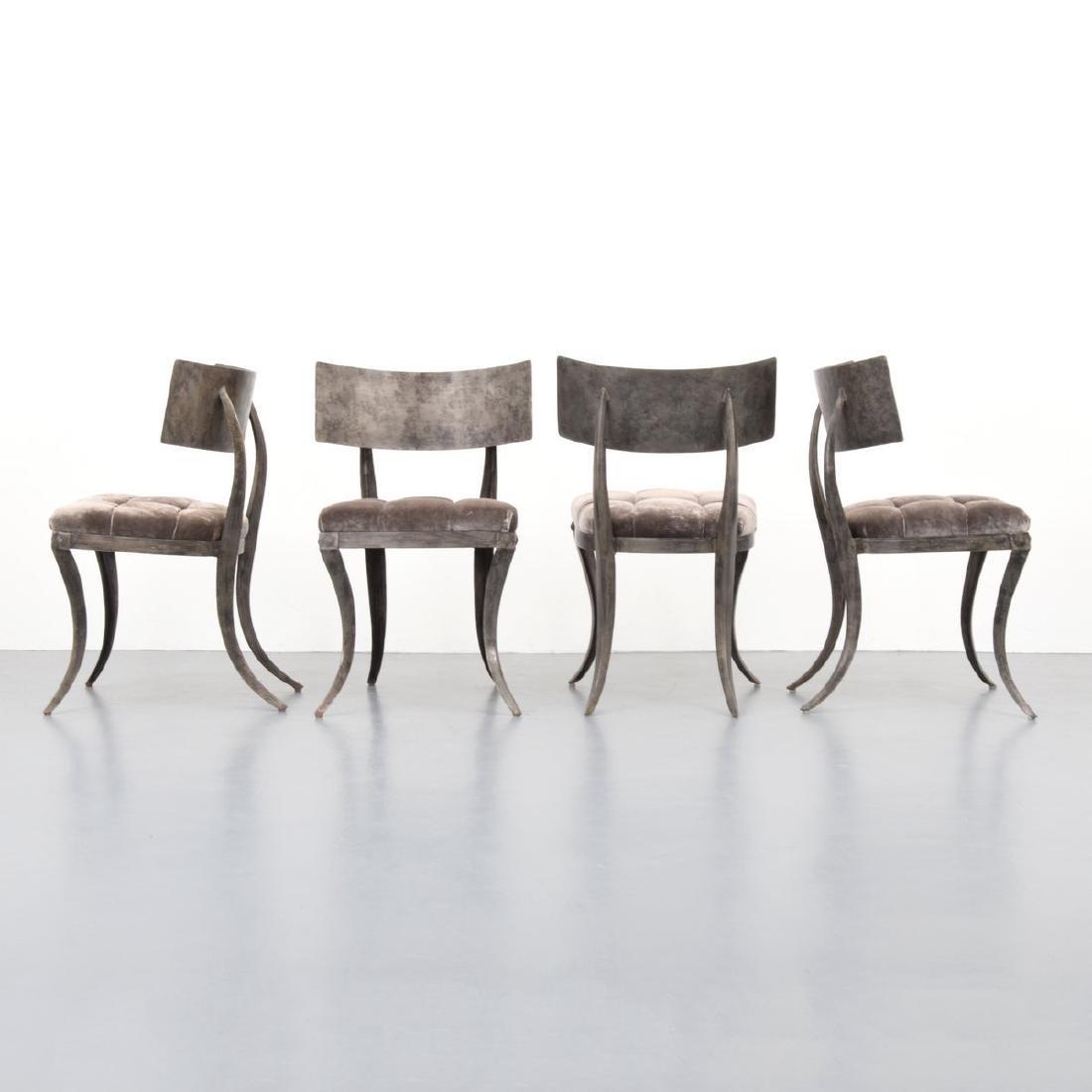 4 Klismos Chairs, Manner of T.H. Robsjohn-Gibbings - 2