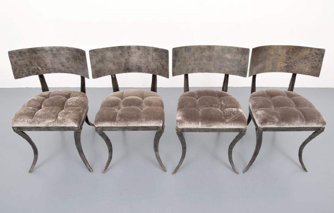 4 Klismos Chairs, Manner of T.H. Robsjohn-Gibbings - 3