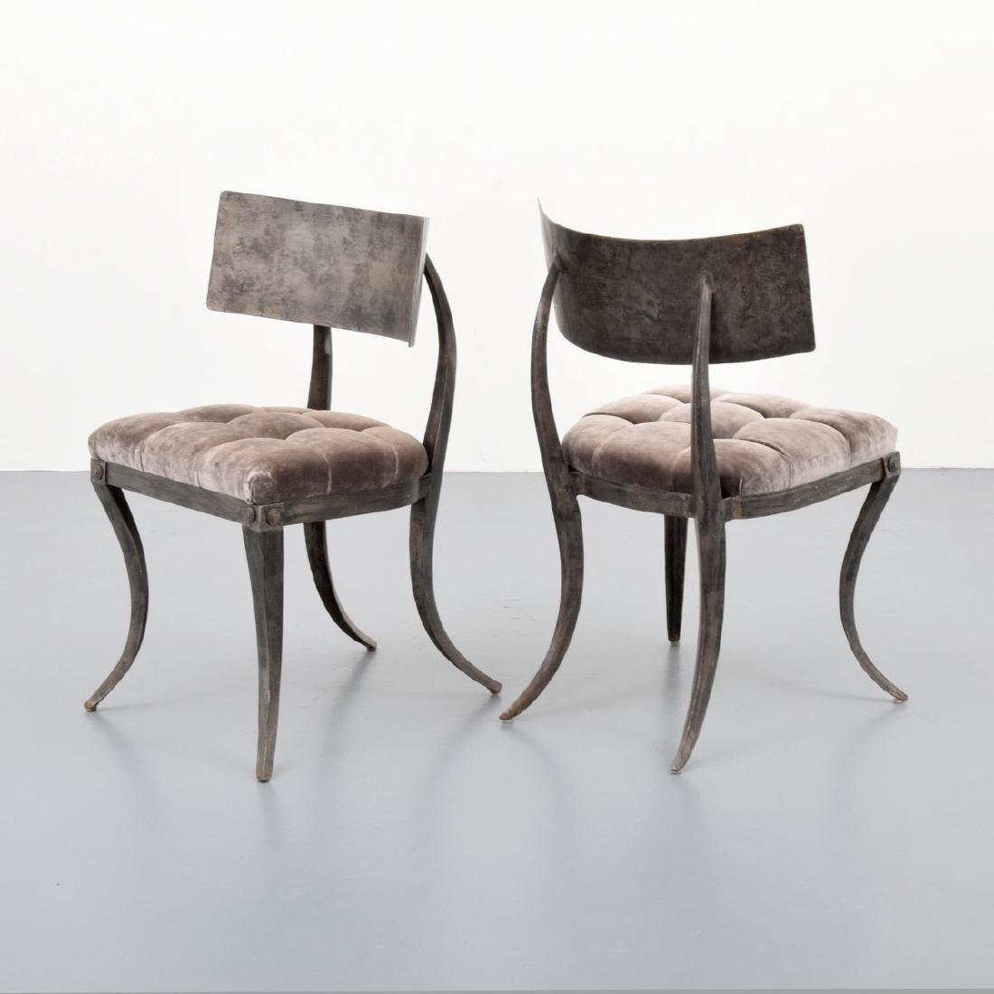 4 Klismos Chairs, Manner of T.H. Robsjohn-Gibbings - 5