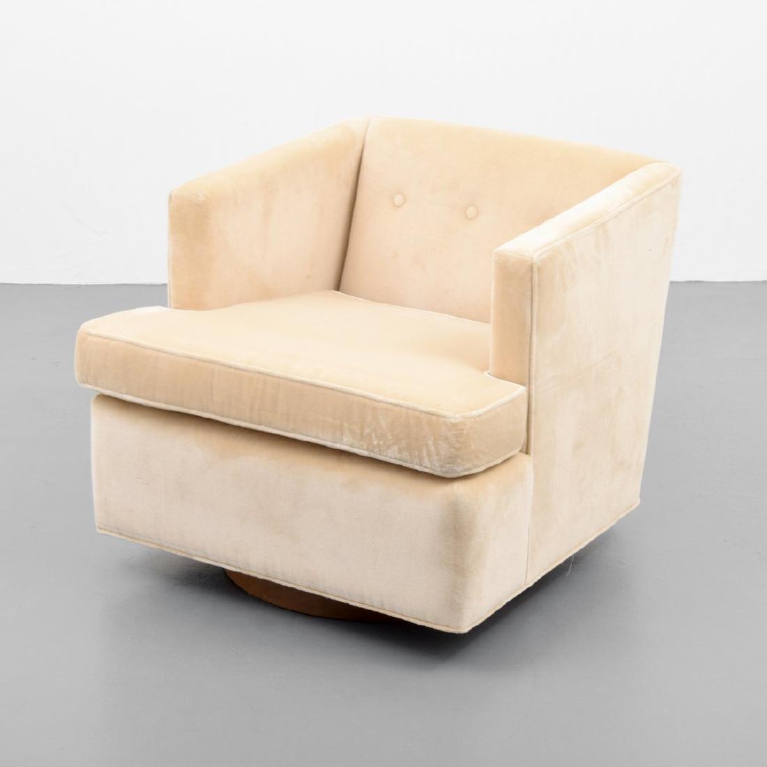 Edward Wormley Swivel Lounge Chair