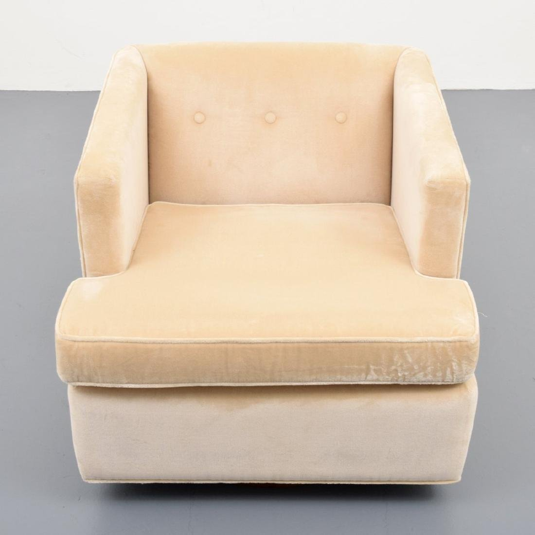 Edward Wormley Swivel Lounge Chair - 2