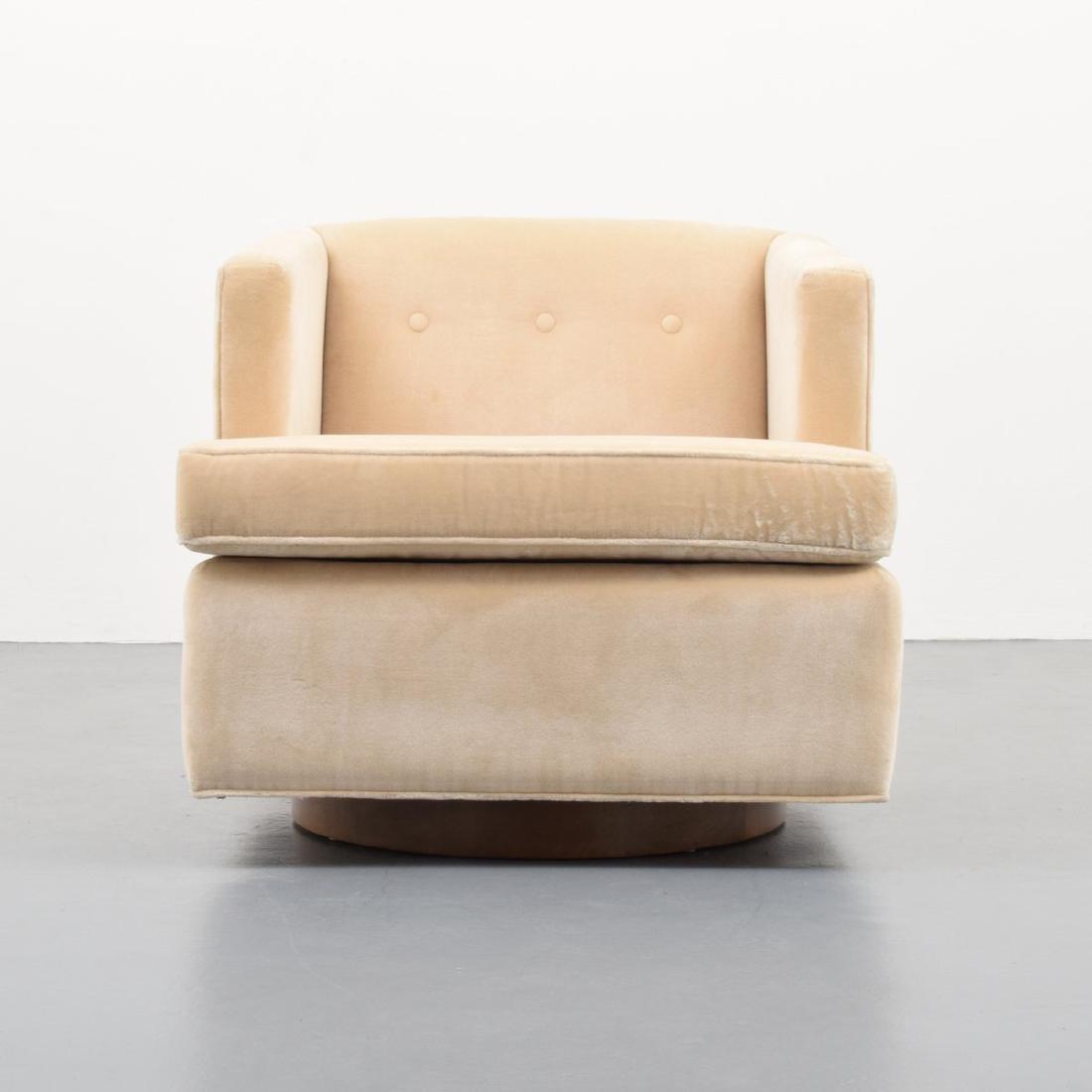 Edward Wormley Swivel Lounge Chair - 3