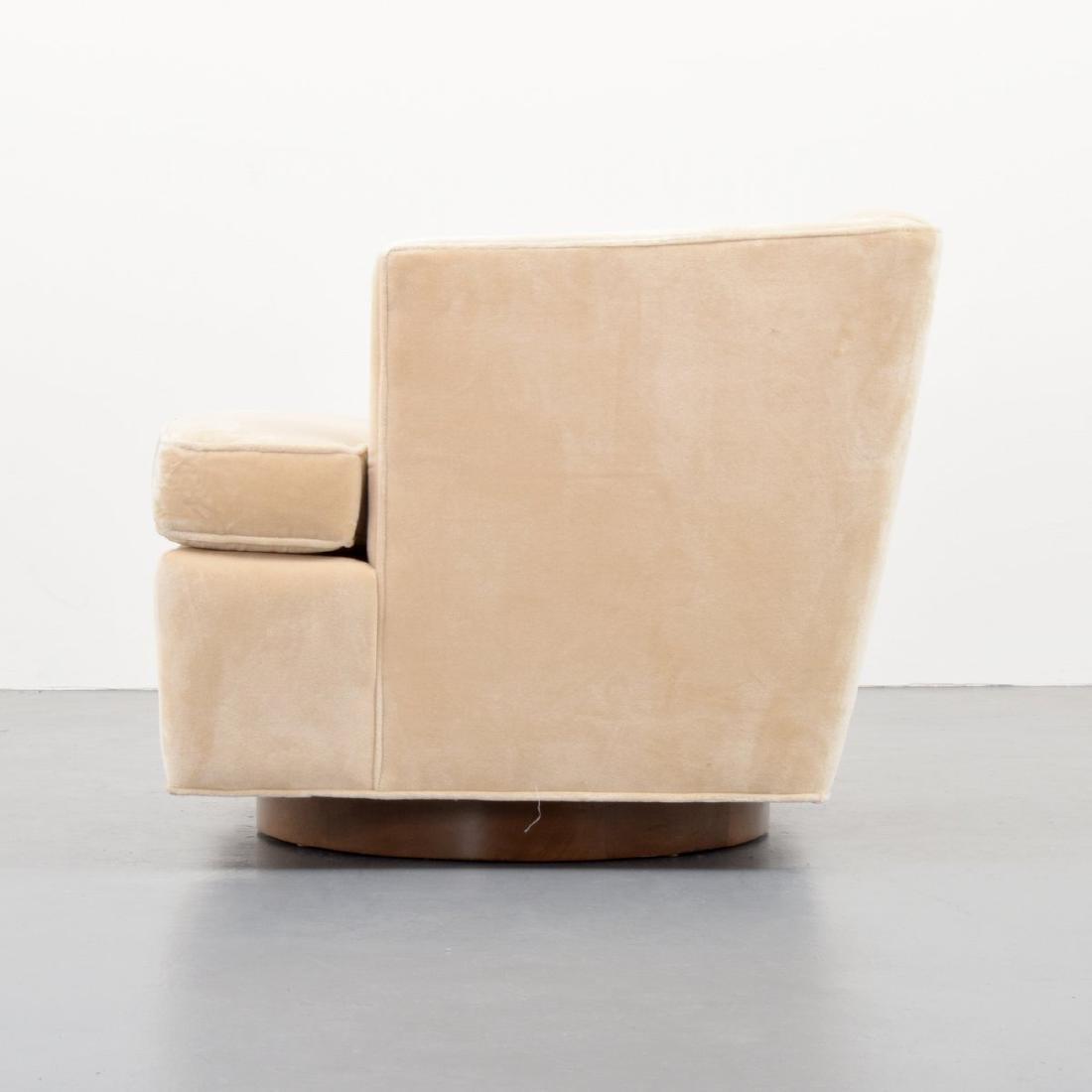Edward Wormley Swivel Lounge Chair - 5