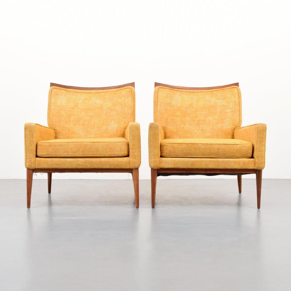 Pair of Paul McCobb Lounge Chairs - 2