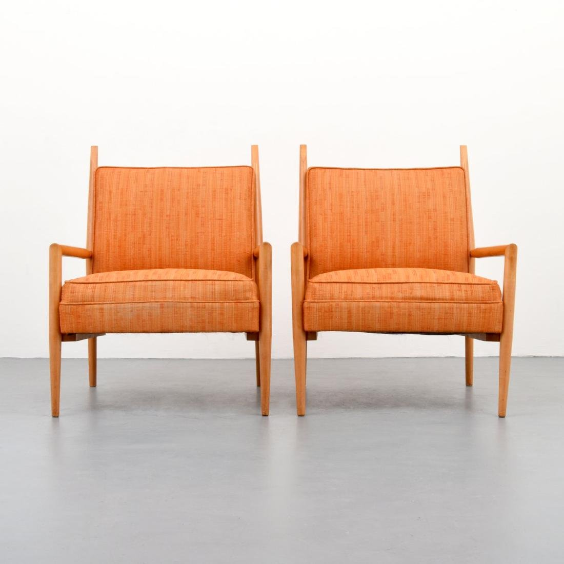 Pair of Paul McCobb Lounge Chairs - 2