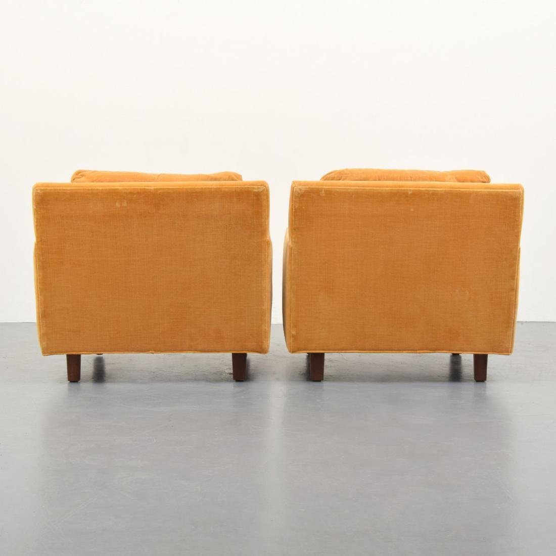 Pair of Milo Baughman Lounge Chairs - 3