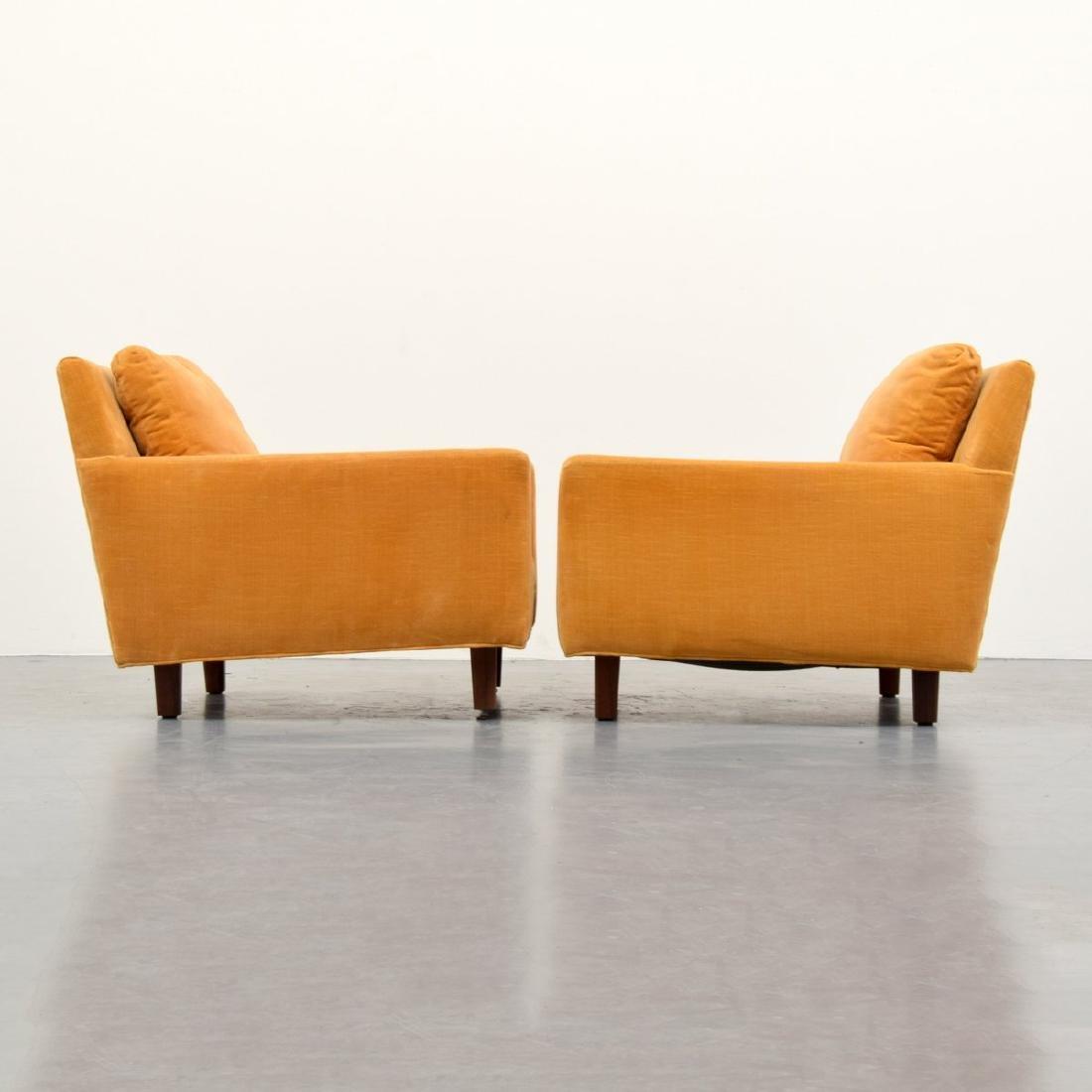 Pair of Milo Baughman Lounge Chairs - 4