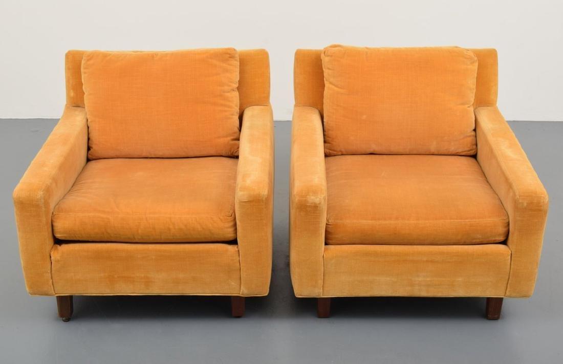 Pair of Milo Baughman Lounge Chairs - 7