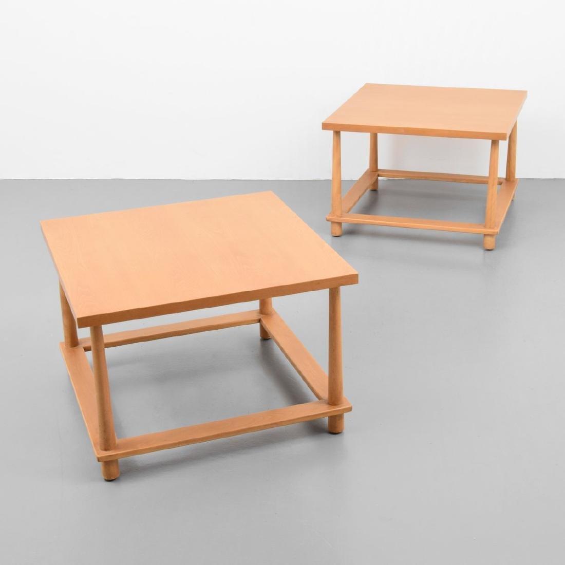 Pair of T.H. Robsjohn-Gibbings Occasional Tables