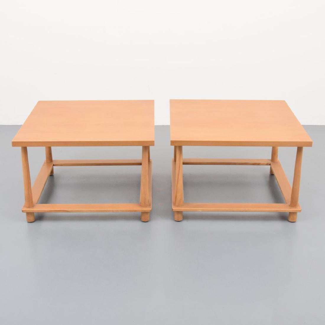 Pair of T.H. Robsjohn-Gibbings Occasional Tables - 3