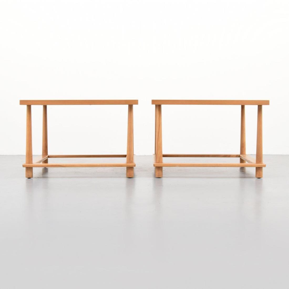 Pair of T.H. Robsjohn-Gibbings Occasional Tables - 4