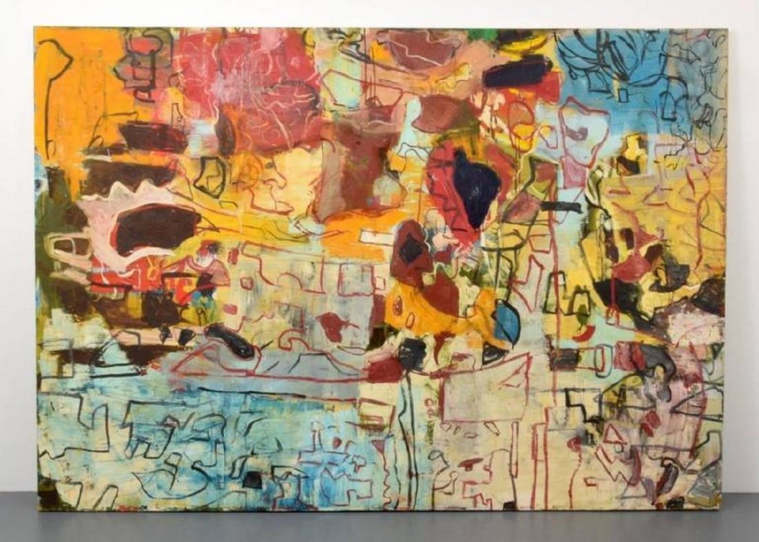 Monumental Roger Herman Painting - 2