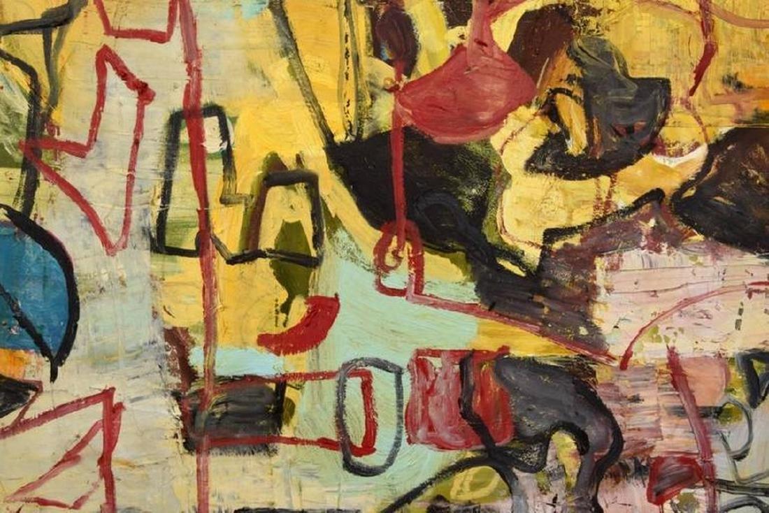 Monumental Roger Herman Painting - 5