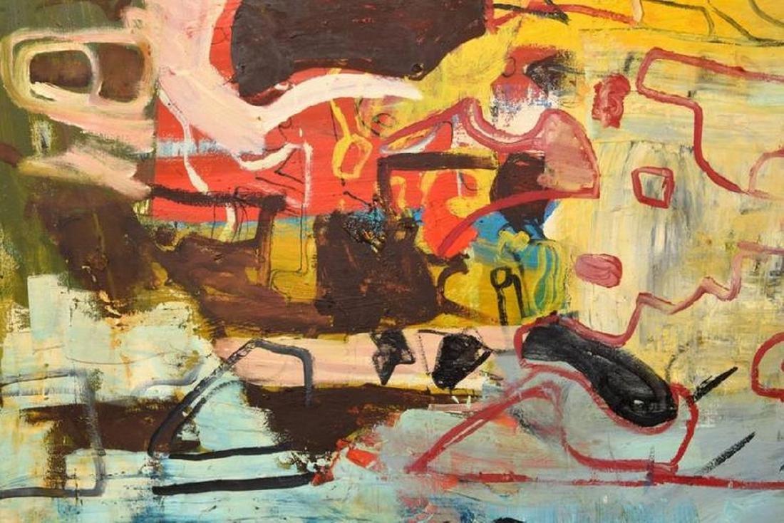 Monumental Roger Herman Painting - 6