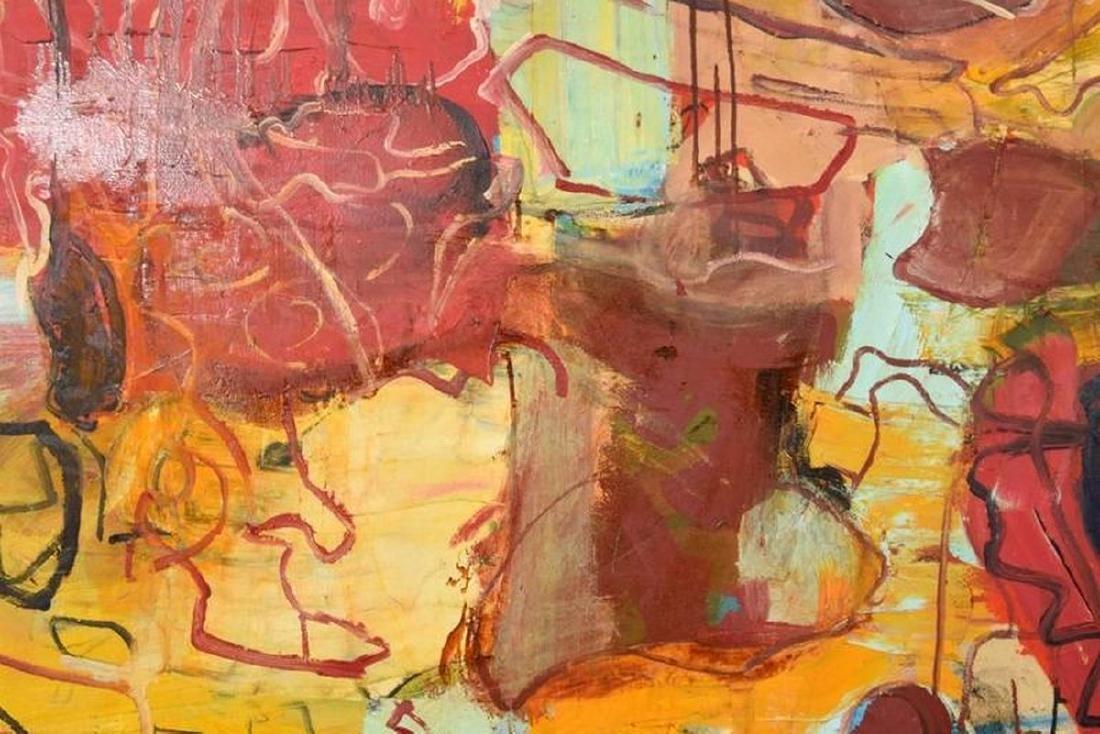 Monumental Roger Herman Painting - 7